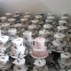 phin cafe sứ họa tiếc gốm bát tràng hà nội cao cấp khử chì CF04 giá sỉ