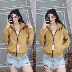 Áo khoác dù nữ mẫu mới giá sỉ