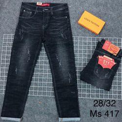 Quần jeans nam dài size 28-32 giá sỉ