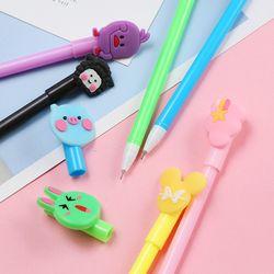 Set 20 bút bi nước nhiều màu nhiều mẫu kèm túi đựng giá sỉ, giá bán buôn