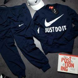Set bộ thể thao JUst Do It thun 2 da chính phẩm- xưởng may quần áo thể thao BIG SPORT giá sỉ, giá bán buôn