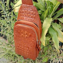 Túi đeo chéo Da Cá Sấu giá sỉ
