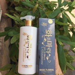 Kem dưỡng body chống nắng Hàn Quốc Magic Flowers spf 50 PA