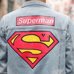 ÁO KHOÁC JEAN SUPER MAN