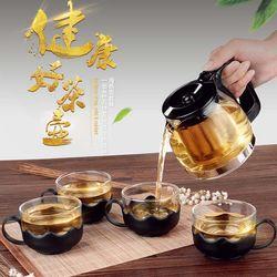 Bộ ấm pha trà thủy tinh có lưới lọc cao cấp giá sỉ