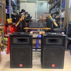Combo karaoke loa JBL bass 3 tấc giá sỉ