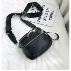 Túi đeo chéo nữ dáng hộp dây bản to có thể đeo nhiều kiểu có VIDEO