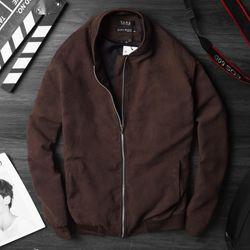 áo khoác da lộn-ld055 giá sỉ