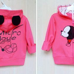 Áo khoác Mickey bé gái size đại giá sỉ