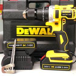 Khoan pin DEWALT 36V 775