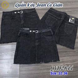 Quần Váy Jean Co Giãn QVD2844 size 32-36 giá sỉ