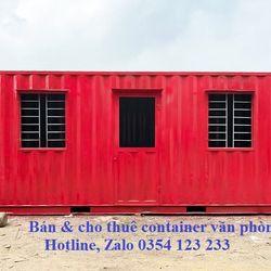 Container văn phòng giá rẻ địa bàn Hà Nội và các tỉnh lân cận giá sỉ