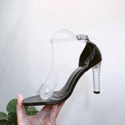 Sandal gót trong cao cấp 9 giá sỉ