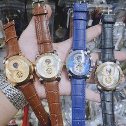 Đồng hồ cơ RRolexx rồng cuộn số 8 phát tài trăng sao chạy giá sỉ