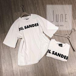 Áo thun trắng chữ JIL SANDER đơn giản cực xinh giá sỉ