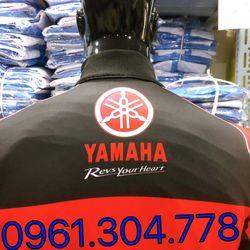 Áo khoác thể thao yamaha đen đỏ giá sỉ