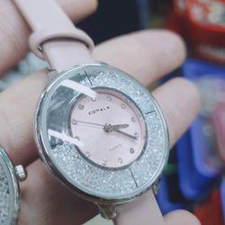 Đồng hồ nữ Comely đá xoay full hộp giá sỉ, giá bán buôn
