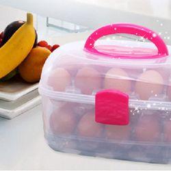 Hộp đựng trứng 2 tầng tiện dụng giá sỉ
