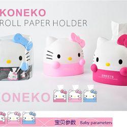 Hộp đựng khăn giấy mèo kitty giá sỉ