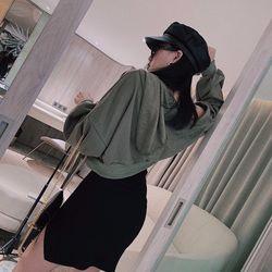set bộ đồ nữ đẹp chất cá tính dễ thương giá rẻ váy len áo khoác mũ khóa BN 07515 Kèm Ảnh Thật giá sỉ