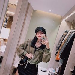set bộ đồ nữ đẹp chất cá tính dễ thương giá rẻ váy len áo khoác mũ khóa BN 07515 Kèm Ảnh Thật giá sỉ, giá bán buôn