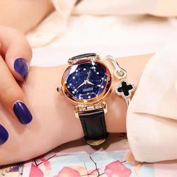 Đồng hồ nữ GUOU 6603A đá giá sỉ