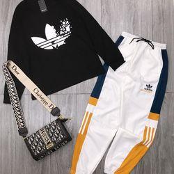 set bộ đồ nữ đẹp chất cá tính dễ thương giá rẻ Áo 3 lá dài tay quần kaki bom gấu BN 27485 Kèm Ảnh Thật giá sỉ, giá bán buôn
