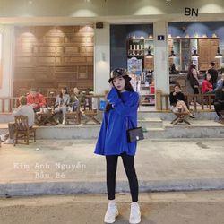 set bộ đồ nữ đẹp chất cá tính dễ thương giá rẻ áo xanh quần legging siêu hot BN 86337 Kèm Ảnh Thật giá sỉ