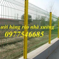 Lưới thép hàng rào mạ kẽm hàng rào sơn tĩnh điện giá sỉ