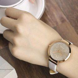 đồng hồ nữ Vser dây da giá sỉ, giá bán buôn