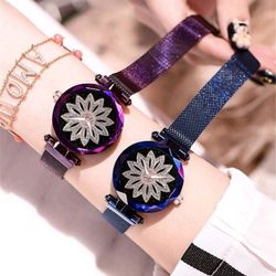 đồng hồ nam châm nữ mặt kính cd88 giá sỉ, giá bán buôn