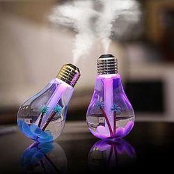 Máy phun sương tạo ẩm hình bóng đèn đổi 7 màu giá sỉ, giá bán buôn