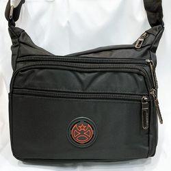 Túi đeo chéo nam logo phi tiêu đỏ kiểu ngang 5 ngăn dày tốt TDC0025 giá sỉ