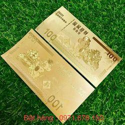 Tiền Con Chuột Macao Mạ Vàng giá sỉ