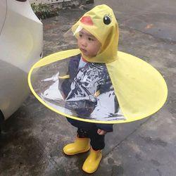 Áo mưa nón con vịt cho bé siêu kute giá sỉ