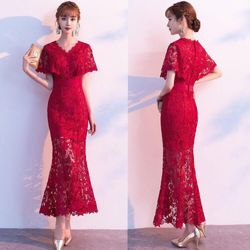 Đầm dạ hội lưới cao cấp giá sỉ