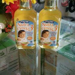 dầu ăn dinh dưỡng Cá Hồi cho bé