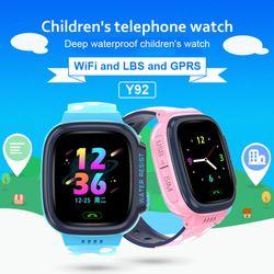 Đồng Hồ Định Vị GPS Cao Cấp Trẻ Em Y92 Có Tiếng Việt Chống Nước Camera Nghe Gọi Hai Chiều Mẫu Mới 2019 giá sỉ