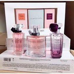 Bộ nước hoa Gift Set Lancomee La Viee Est Belle 3 chai giá sỉ