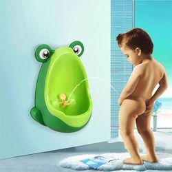 Bệ tiểu mini gắn tường cho bé trai hình chú ếch giá sỉ, giá bán buôn