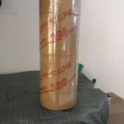Băng keo 100ya 1 cây 6 cuộn giá sỉ
