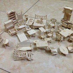 Đồ chơi lắp ghép mô hình nhà gỗ giá sỉ, giá bán buôn