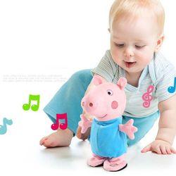 Heo bông Peppa pig biết hát cho bé giá sỉ