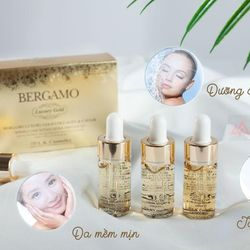 Serum Collagen Luxury Gold Chống Nhăn Bergamo 13ml