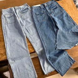 Quần baggy jean loe có túi trước như hình thời trang chuyên sỉ jean 2KJean giá sỉ