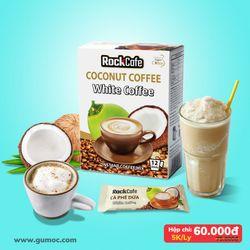 CÀ PHÊ DỪA - Rockcafe Coconut White Coffee - Hộp 12 gói x 20g