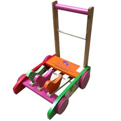Xe gà tập đi bằng gỗ mommy care/Xe tập đi giá sỉ