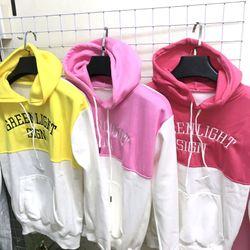 áo khoác hoodie nỉ 2 màu giá sỉ