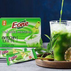Trà sữa Matcha hòa tan Eone Matcha Latte - Hộp 10 gói x 20g tại Gu Mộc giá sỉ