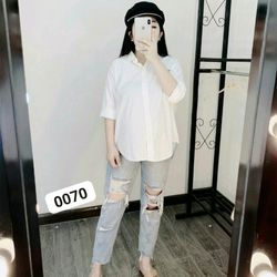 Quần baggy jean rách như hình thời trang chuyên sỉ jean 2KJean giá sỉ